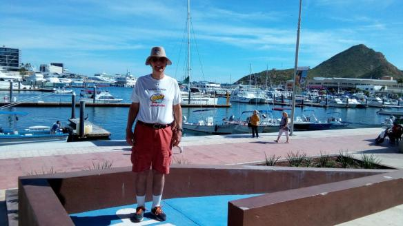 Person wearing Baron t-shirt in Cabo San Lucas, Mexico. Activating element opens larger version of image.