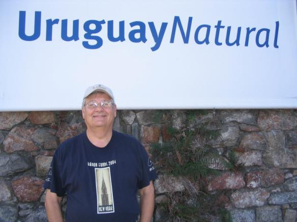 Man wearing Baron t-shirt in Uruguay. Activating element opens larger version of image.